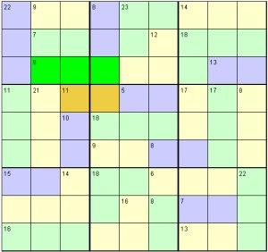 Killer Sudoku Solving